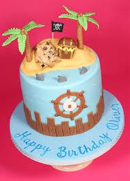 Pirate Treasure Island Cake Cakey Goodness