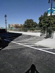parking lot line striping pavement marking