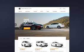 Car Dealer Website Design Paritetservice Web Site Design