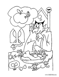 Small Picture Draculas hungry coloring pages Hellokidscom