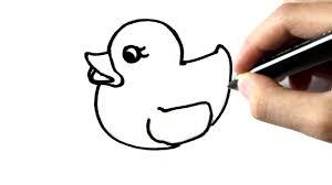 Comment Dessiner Un Canard En Plastique Youtube