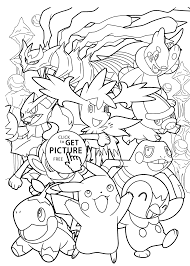 Coloring Pages Pokemon Coloring Book Pages To Print Mimikyu