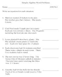 math word problems with answers for grade 9 absolute free worksheets for linear equations