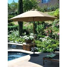 patio umbrella canopy canopy 9 executive teak outdoor market umbrella patio umbrella replacement canopy home depot
