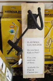 sax hanger flat wall