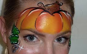 Cool Pumpkin Faces Pumpkin Mask Face Painting Tutorial Youtube