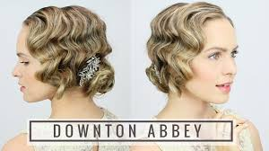 1920 Hair Style 1920s finger wave updo youtube 1826 by wearticles.com