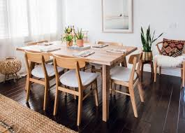 the ecole dining chair beautifully paired with our madera table