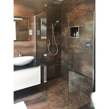 shower walls 300mm to 1000mm glass side panels 8mm easy clean glass