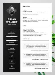 cv templatye free word resume template 10 best free resume cv templates in ai
