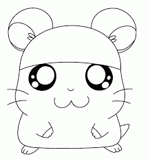 Cute Hamster Coloring Pages Printable Mountainstyleco