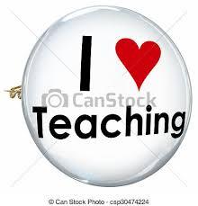 Symbol For Teacher I Love Teaching Heart Button Pin Proud Teacher School Education I