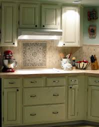 Kitchen Tile Paint Small Green Kitchen Tiles Quicuacom