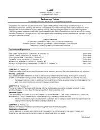 Chronological Resume Format Example Sarahepps Com