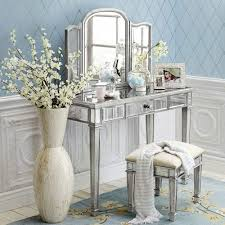 Mirrored Bedroom Furniture Set Hayworth Mirrored Lingerie Chest Antique  White : Exquisitely Glamorous And Fascinating Collection Of Mirrored  Bedroom Set ...