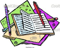 Day Planner Clipart