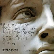 Michelangelo Quotes Classy Artist Quote Michelangelo Paint Into A Corner