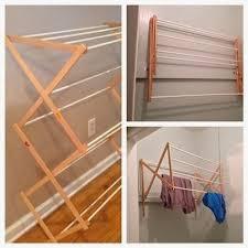 diy wall mounted drying rack diy