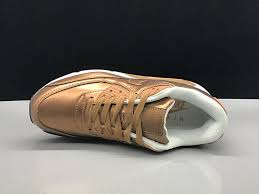 humanized nike air max 90 leather metal gold white women s men s running shoes