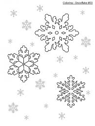 Small Picture Simple Snowflake Coloring Pages Elioleracom