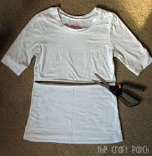 Make Your Shirt Make Your Own Half Shirt For Layering Thecraftpatchblog Com