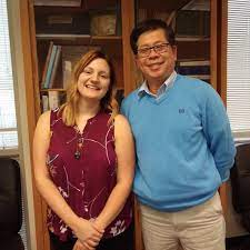 """UTKGeography on Twitter: """"Congratulations to Bridgette Fritz, who  successfully defended her thesis on a new method for detecting and  characterizing sinkholes. Photo with advisor Liem Tran.…  https://t.co/20UPVVrFIu"""""""