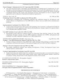Construction Project Manager Resume Word Template Construction