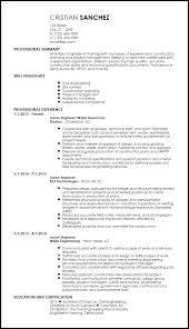 Free Creative Engineering Resume Templates Resume Now