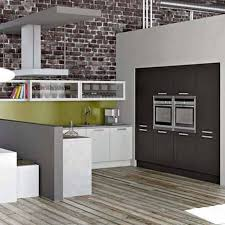 white and green paint for contemporary kitchen walls