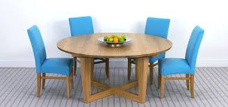 brunel large round extending table in solid oak solid walnut round extendable dining table in solid