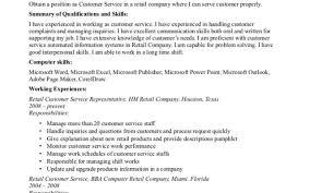 Handsome Resume Info Sample Resume Topresume Info Retail Customer