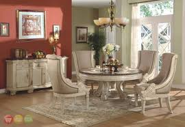 antique white wash dining set. popular antique white dining room sets halyn round traditional formal set wash h