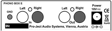 <b>Pro</b>-<b>Ject Phono Box</b> E