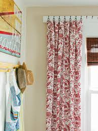 coffee sack curtains