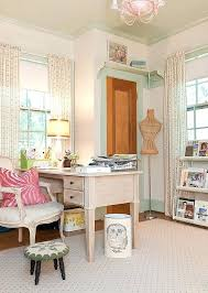 chic office decor.  Chic Shabby Chic Office Decor Gorgeous Home Offices And Craft Rooms  Decorating Inside Chic Office Decor C