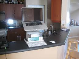 regarding laptop desk setup nice ergonomics