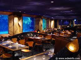 underwater restaurant disney world. Unique Disney Coral Reef Restaurant Menu On Underwater Disney World A