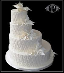 Quilted Beauty Wedding Cake • Palermo's Custom Cakes & Bakery & Quilted Beauty Wedding Cake Adamdwight.com