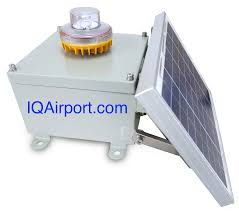 Led Tower Obstruction Lights Iqairport Com Solar Obstruction Light Approved For Faa