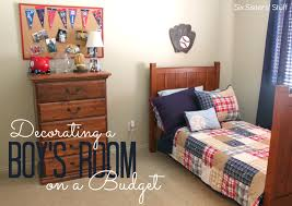 Decorate My Bedroom Decorating A Boys Bedroom On A Budget Six Sisters Stuff