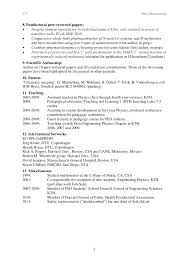 Resume For Graduate School Cv template for phd graduates - 100% Original