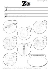 ffonix_intro_z printable alphabet worksheets with hard consonants and short on alphabet handwriting worksheets