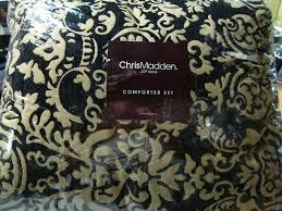 chris madden ironworks 4 piece comforter bedding set