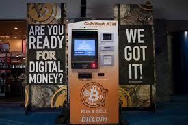 Bitcoin Vending Machine Mesmerizing Bitcoin ATM In Houston Discovery Green Parking