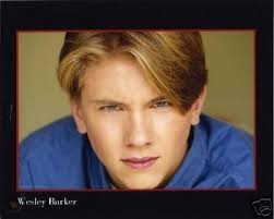 WESLEY BARKER teen actor 8x10 color Agency headshot   #31771165