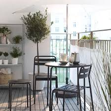 modern balcony furniture. Modern Balcony Furniture Ideas By IKEA With Small Round Table And Chairs F