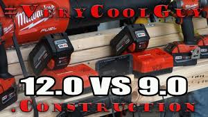 Milwaukee M18 Battery Charge Time Battle 9 0 Vs 12 0