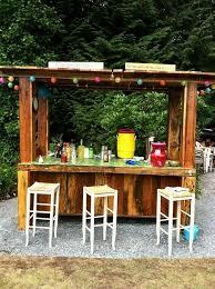 outdoor bar ideas for outdoor decor diy backyard bar adams flowers