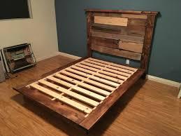 reclaimed wood king platform bed. Reclaimed Wood Platform Bed Frame King Beds For O