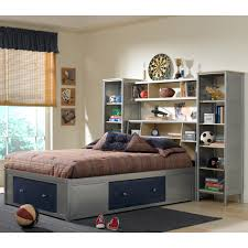 Kids Bed With Bookshelf Kids Bed Design Twin Bed With Bookcase Headboard And Storage